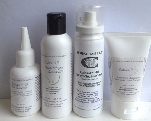 calosol anti hairloss products