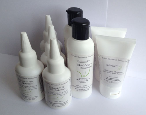 Special offer Pack of Calosol anti hairloss products